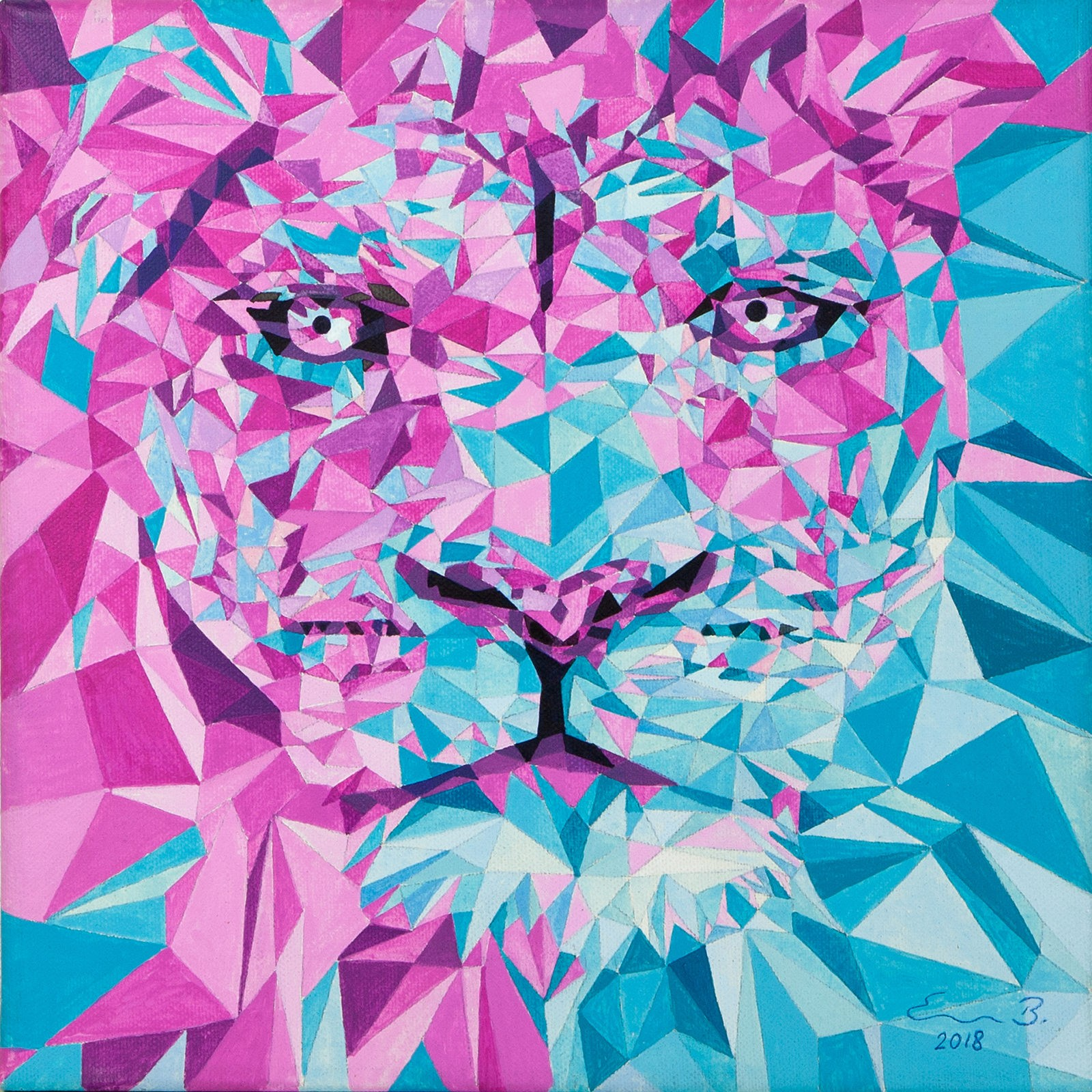 Pop Art Lion II_2018
